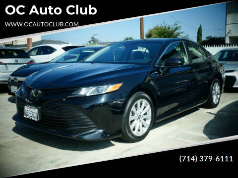 2018 Toyota Camry for sale at OC Auto Club in Midway City CA