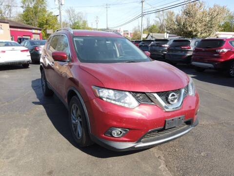2016 Nissan Rogue for sale at RS Motors in Falconer NY