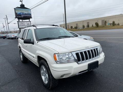 2004 Jeep Grand Cherokee for sale at A & D Auto Group LLC in Carlisle PA