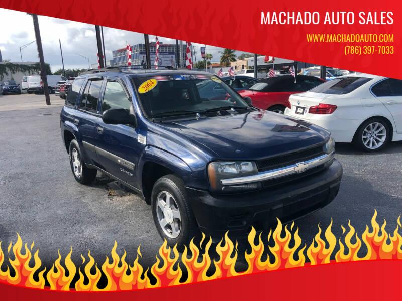 2004 Chevrolet TrailBlazer for sale at MACHADO AUTO SALES in Miami FL