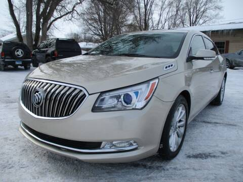 2014 Buick LaCrosse for sale at RJ Motors in Plano IL