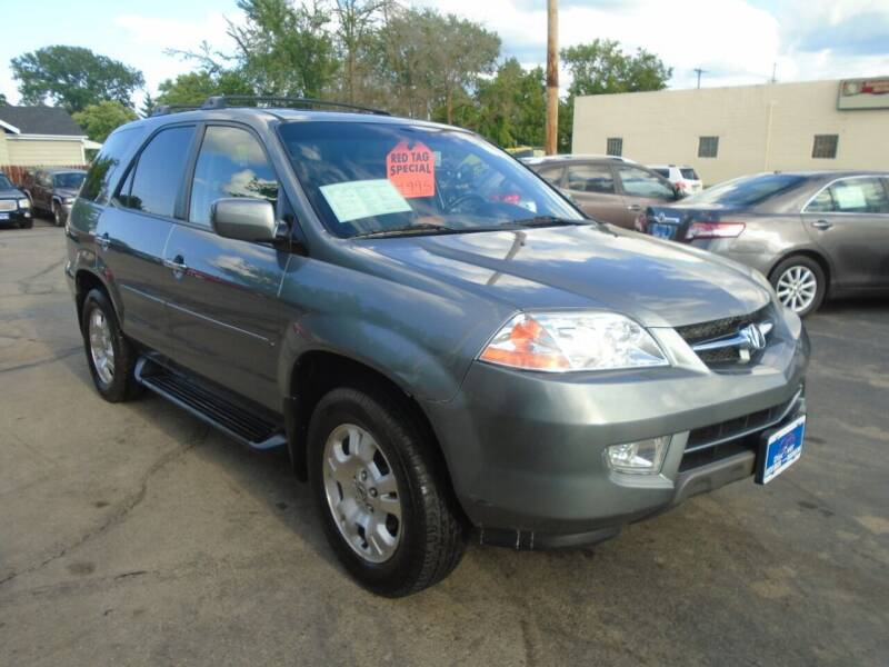 2002 Acura MDX for sale at DISCOVER AUTO SALES in Racine WI