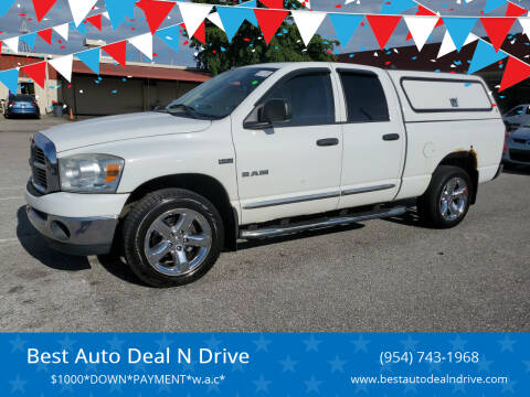 2008 Dodge Ram Pickup 1500 for sale at Best Auto Deal N Drive in Hollywood FL