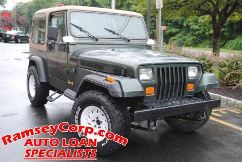 1995 Jeep Wrangler for sale at Ramsey Corp. in West Milford NJ