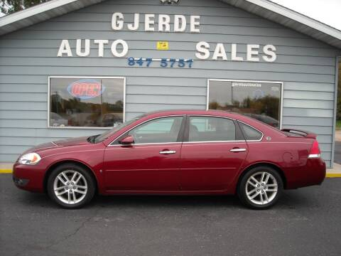 2008 Chevrolet Impala for sale at GJERDE AUTO SALES in Detroit Lakes MN