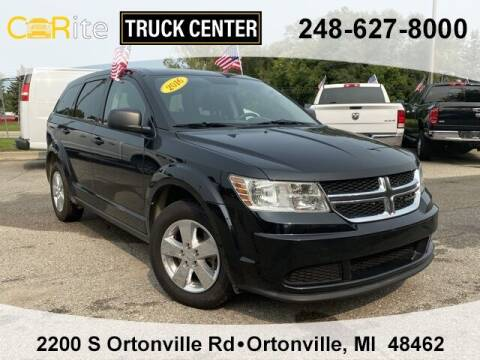 2016 Dodge Journey for sale at Carite Truck Center in Ortonville MI