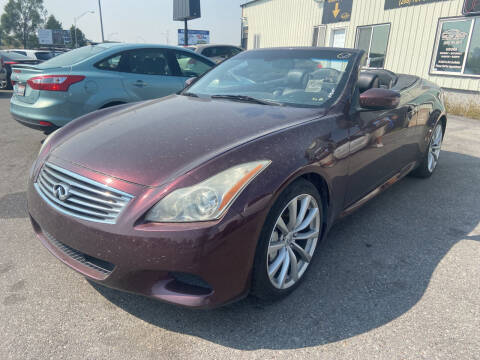 2010 Infiniti G37 Convertible for sale at BELOW BOOK AUTO SALES in Idaho Falls ID