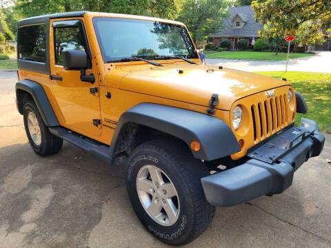 2013 Jeep Wrangler for sale at Vision Motorsports in Tulsa OK