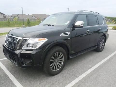 2019 Nissan Armada for sale at BMW of Schererville in Schererville IN