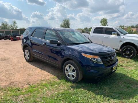 2014 Ford Explorer for sale at Yachs Auto Sales and Service in Ringle WI