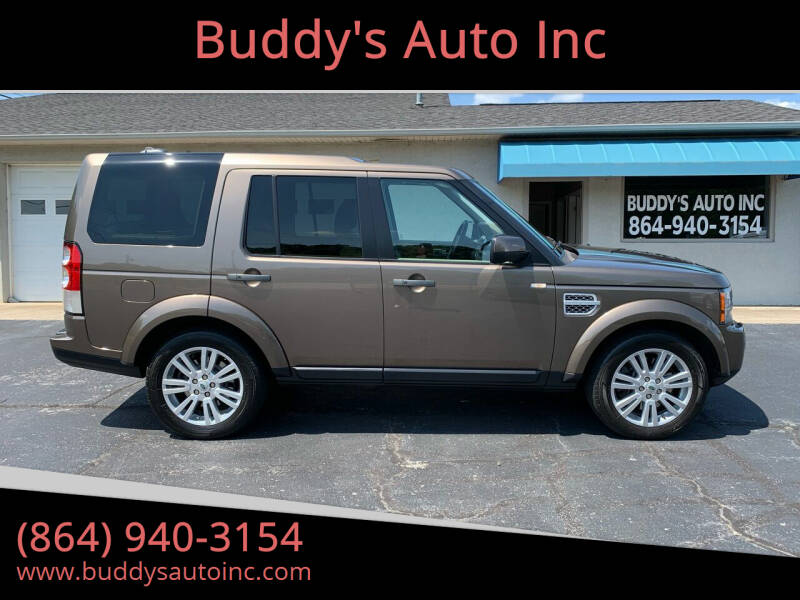 2011 Land Rover LR4 for sale at Buddy's Auto Inc in Pendleton, SC