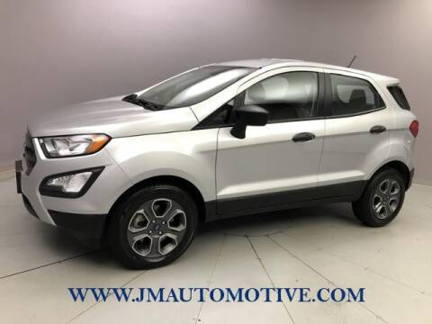 2020 Ford EcoSport for sale at J & M Automotive in Naugatuck CT