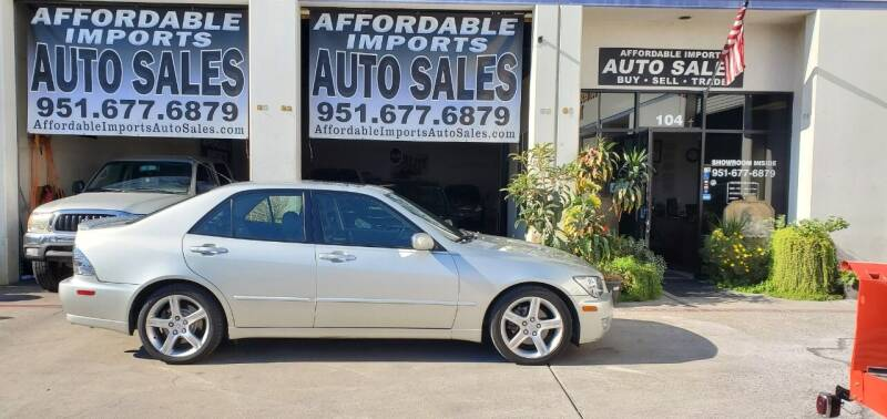 2004 Lexus IS 300 for sale at Affordable Imports Auto Sales in Murrieta CA