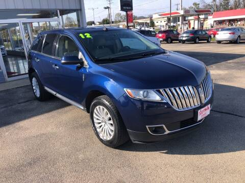 2012 Lincoln MKX for sale at ROTMAN MOTOR CO in Maquoketa IA