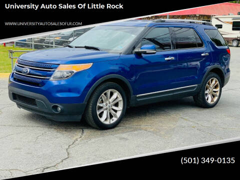 2013 Ford Explorer for sale at University Auto Sales of Little Rock in Little Rock AR