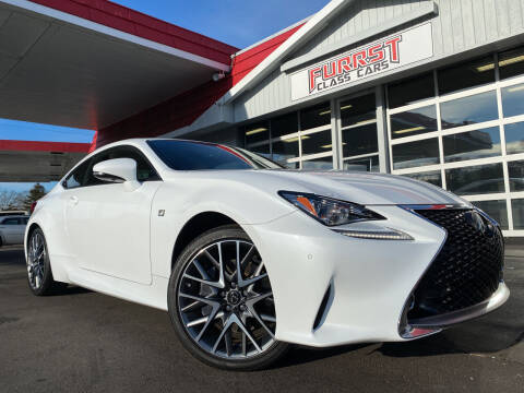2017 Lexus RC 300 for sale at Furrst Class Cars LLC in Charlotte NC