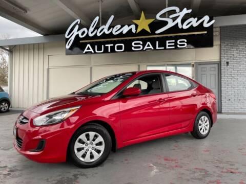 2016 Hyundai Accent for sale at Golden Star Auto Sales in Sacramento CA