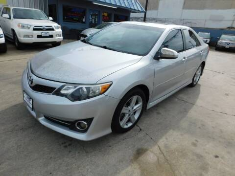2012 Toyota Camry for sale at AMD AUTO in San Antonio TX