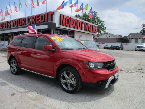 2017 Dodge Journey for sale at Giant Auto Mart 2 in Houston TX