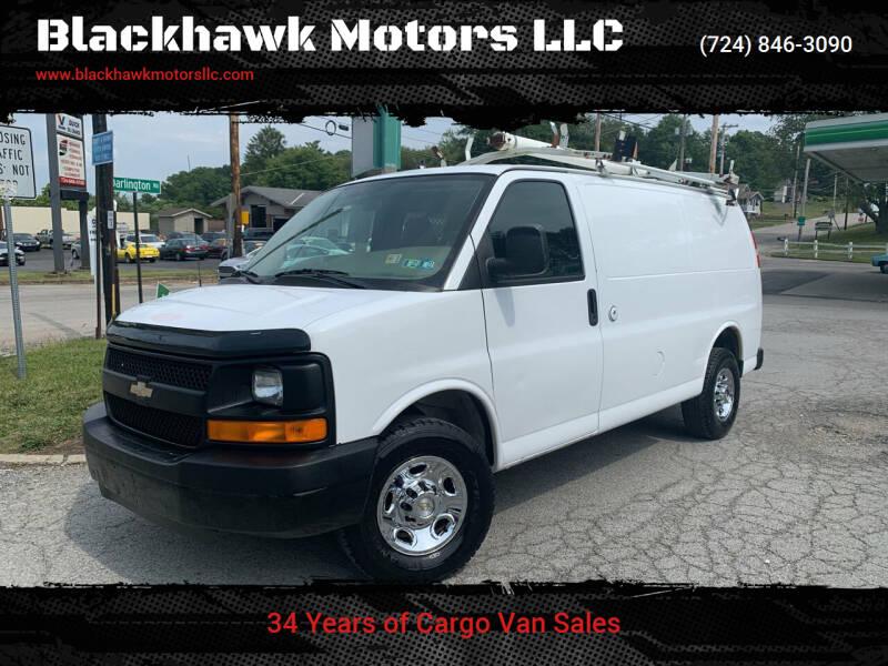 2009 Chevrolet Express Cargo for sale at Blackhawk Motors LLC in Beaver Falls PA