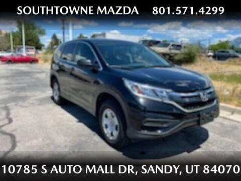 2015 Honda CR-V for sale at Southtowne Mazda of Sandy in Sandy UT