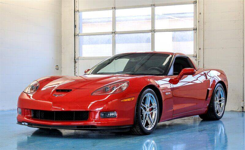 2008 Chevrolet Corvette for sale at Mershon's World Of Cars Inc in Springfield OH