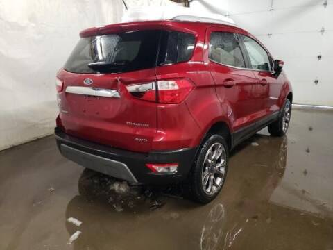 2018 Ford EcoSport for sale at One Stop Auto Sales, Collision & Service Center in Somerset PA