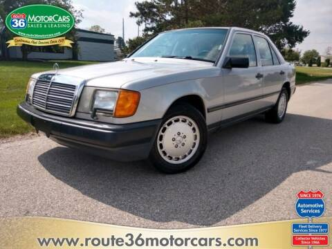 1987 Mercedes-Benz 300-Class for sale at ROUTE 36 MOTORCARS in Dublin OH