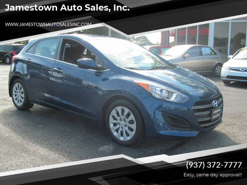 2016 Hyundai Elantra GT for sale at Jamestown Auto Sales, Inc. in Xenia OH