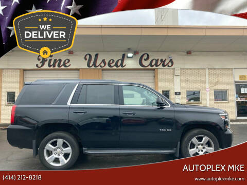 2015 Chevrolet Tahoe for sale at Autoplex MKE in Milwaukee WI