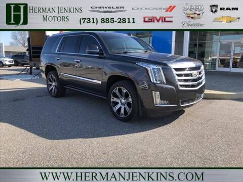 2017 Cadillac Escalade for sale at Herman Jenkins Used Cars in Union City TN