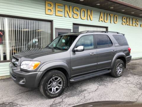 2007 Toyota Sequoia for sale at Superior Auto Sales in Duncansville PA