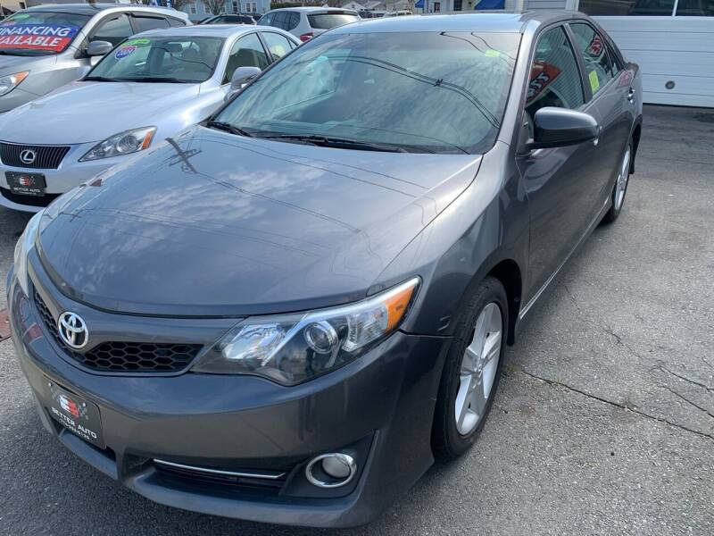 2014 Toyota Camry for sale at Better Auto in South Darthmouth MA