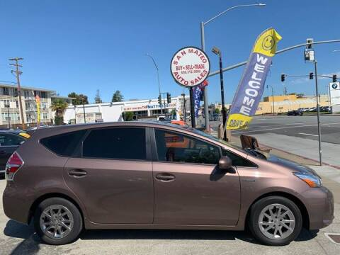 2015 Toyota Prius v for sale at San Mateo Auto Sales in San Mateo CA