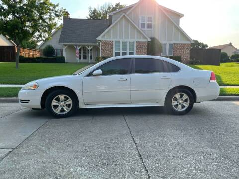 2013 Chevrolet Impala for sale at BJR AUTO SALES in Wylie TX