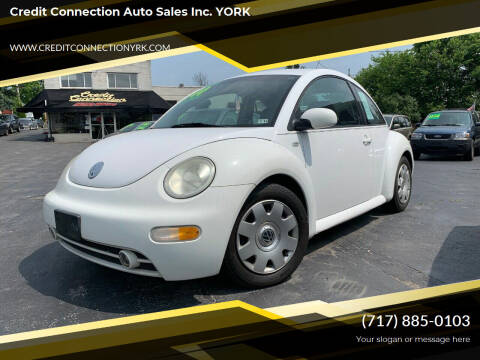 2002 Volkswagen New Beetle for sale at Credit Connection Auto Sales Inc. YORK in York PA