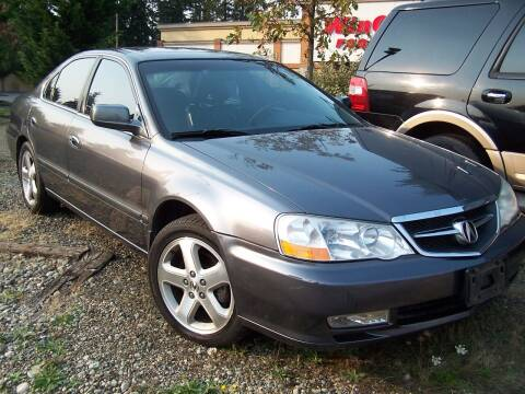 2003 Acura TL for sale at M & M Auto Sales LLc in Olympia WA
