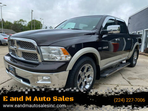 2010 Dodge Ram Pickup 1500 for sale at E and M Auto Sales in East Dundee IL