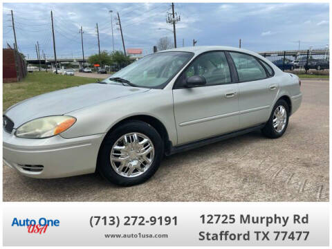 2005 Ford Taurus for sale at Auto One USA in Stafford TX
