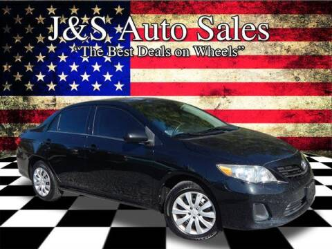 2013 Toyota Corolla for sale at J & S Auto Sales in Clarksville TN