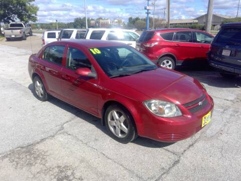 2010 Chevrolet Cobalt for sale at Regency Motors Inc in Davenport IA