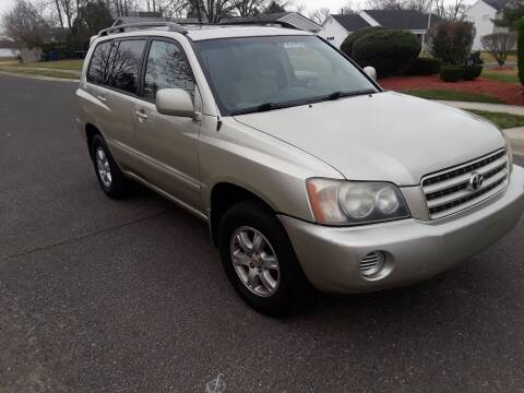 2002 Toyota Highlander for sale at Hipps Integrity Auto Sales in Delran NJ