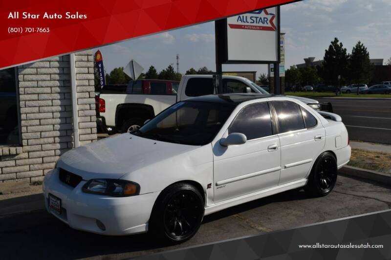 2002 Nissan Sentra for sale at All Star Auto Sales in Pleasant Grove UT