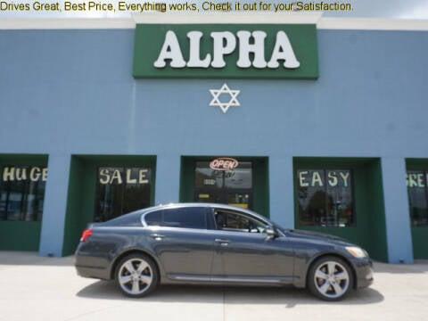 2011 Lexus GS 350 for sale at ALPHA AUTOMOBILE SALES, LLC in Lafayette LA