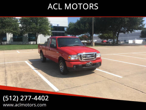 2010 Ford Ranger for sale at ACL MOTORS in Austin TX