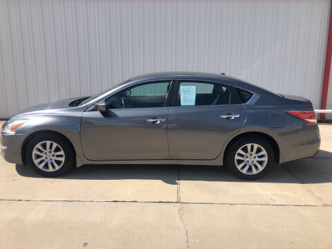 2015 Nissan Altima for sale at WESTERN MOTOR COMPANY in Hobbs NM