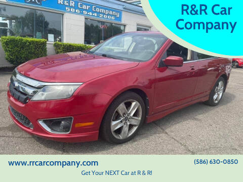 2010 Ford Fusion for sale at R&R Car Company in Mount Clemens MI