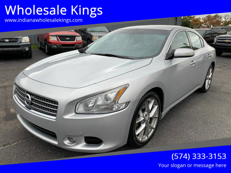 2010 Nissan Maxima for sale at Wholesale Kings in Elkhart IN