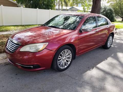 2011 Chrysler 200 for sale at Low Price Auto Sales LLC in Palm Harbor FL
