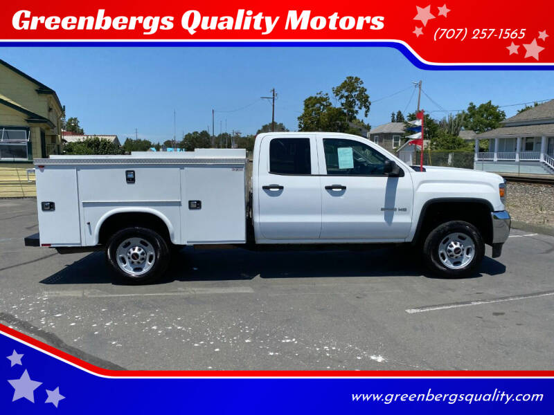 2017 GMC Sierra 2500HD for sale at Greenbergs Quality Motors in Napa CA